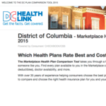 D.C. Health Link testing new tool to make health insurance shopping less painful
