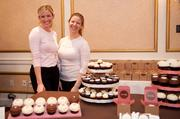 Engaged magazine hosted three bridal showcases March 3 at three of the Washington region's top wedding venues: the Willard Intercontinental Hotel, the St. Regis Hotel and the Decatur House. Employees from Sprinkles Cupcakes.