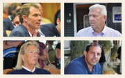 4: Celebrity owners to watch for Saratoga attracts an eclectic lineup of celebrity horse owners who show up for the races, and the annual thoroughbred auctions at Fasig-Tipton. It's possible you might spot (clockwise from top left) Bobby Flay, star of the Food Network; Bill Parcells, former New York Giants head football coach; vitaminwater founder Mike Repole; or Campbell's Soup heiress Charlotte Weber.