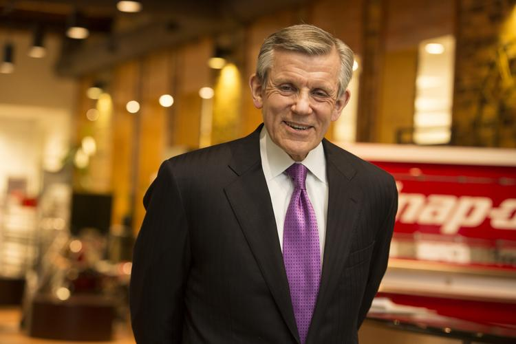 Snap-on chairman and CEO Nick Pinchuk