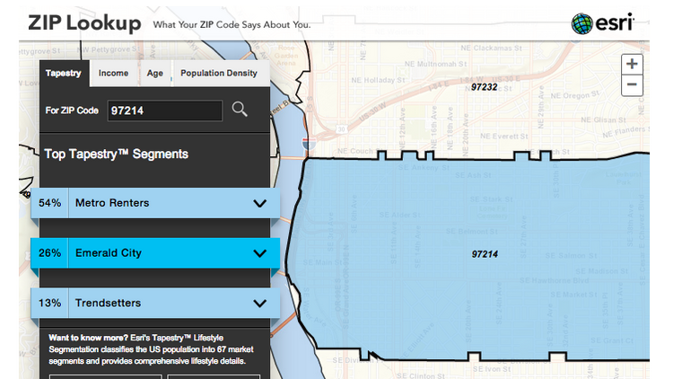 An Interactive Map Of Wealth By Zip Code In The Portland Metro Area