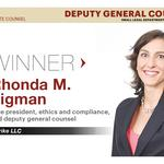 2015 Best Corporate Counsel Awards: Deputy general counsel, small legal department