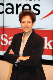 Gisela Bushey, Top Giving Officer, SanDisk Corp. No. 17: $3,879,446 given in 2012 to Bay Area-based charities.