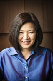 June Sugiyama, Top Giving Officer, Vodaphone Americas. No. 51: $500,648 given in 2012 to Bay Area-based charities.