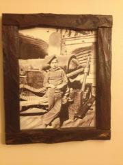 """A photo of a young boy who worked as a """"powder monkey,"""" which carried gun power at arsenals such as the one in Lawrenceville. Arsenal named a cider """"Powder Monkey Peach."""""""