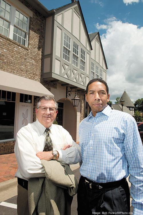 BLOC Global Services Group's Mike Carpenter and Herschell Hamilton have been business partners for 10 years.