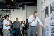 Chris Bissig, manager of concept and brand development for GE Appliances, explained some of the futuristic innovations GE designers are conceptualizing for the home of the future.