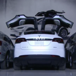 Get behind the wheel of the Tesla Model X (Video)