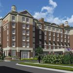 Developers break ground on six-story, dual-branded hotel in SouthPark