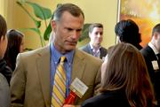 Bank of America Merrill Lynch's Rick Brown has a conversation prior to the event.