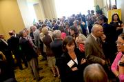 It was a packed house at the downtown Raleigh Marriott City Center.