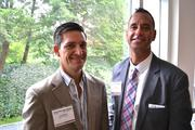 Greg Wood, left, and Nick Araco, both from The CFO Alliance.