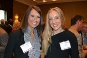 Lauren Hough, left, and Lauren Ziemba, both from SpectrumCareers.