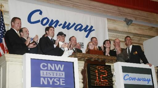 Con-way, founded in Portland in 1929, has been sold for $3 billion.
