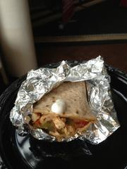 At the end, the crowd got to sample the chicken fajitas — a tasteful ending to an entertaining and educational event.