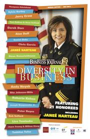 Diversity of Cover (2 of 3) featuring Minneapolis Chief of Police Janeé Harteau