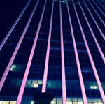 East Memphis high-rise goes pink for Breast Cancer Awareness Month