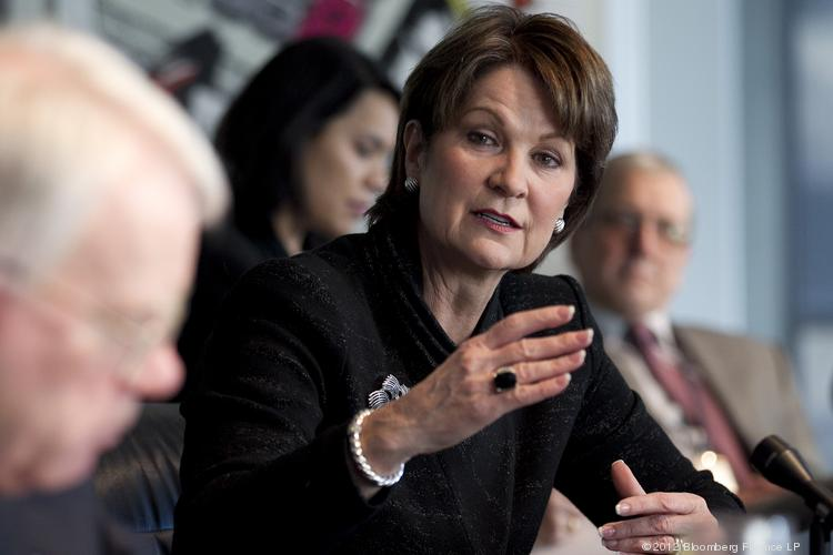Marillyn Hewson, president and chief executive officer at Lockheed Martin Corp. LinkedIn followers, as of 11 a.m. Aug. 15: 107 (but climbing rapidly, given the marketing from Lockheed Martin for her debut)