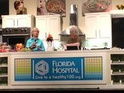 Deen is assisted in the cooking demonstration by Marti White, a diabetes health educator from Orlando who represents drug-maker Novo Nordisk.