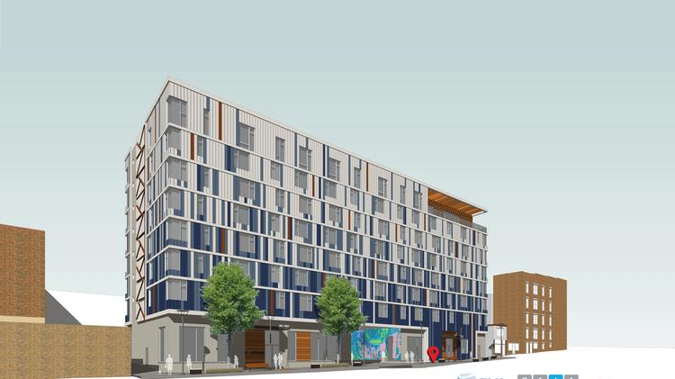 The $20 million project from SA+A Development would bring 103 apartments to Station North & Station North apartment designers seek balance between audacious and ...
