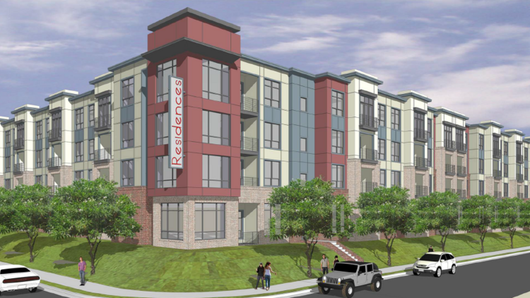 Charmant Wood Partners Is Planning To Break Ground On 340 Unit Apartment Project By  The Towne