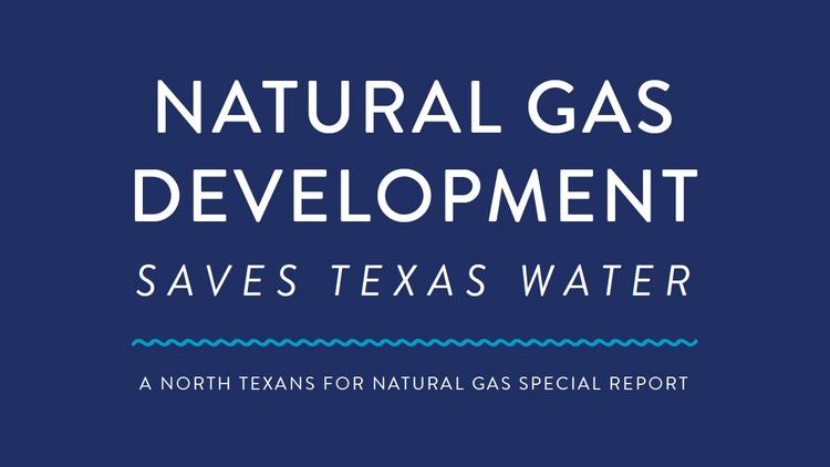A report from North Texans For Natural Gas claims that natural gas-fired power plants save water when compared to coal and other sources of electricity generation.
