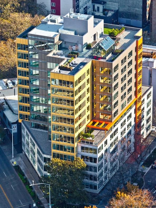 Verve A New Apartment Building By Seattle Center Has Been Sold For 77 7 Million