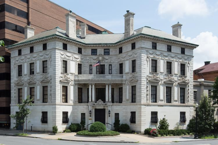SB-Urban has a contract to buy the Patterson Mansion at 15 Dupont Circle from The Washington Club.