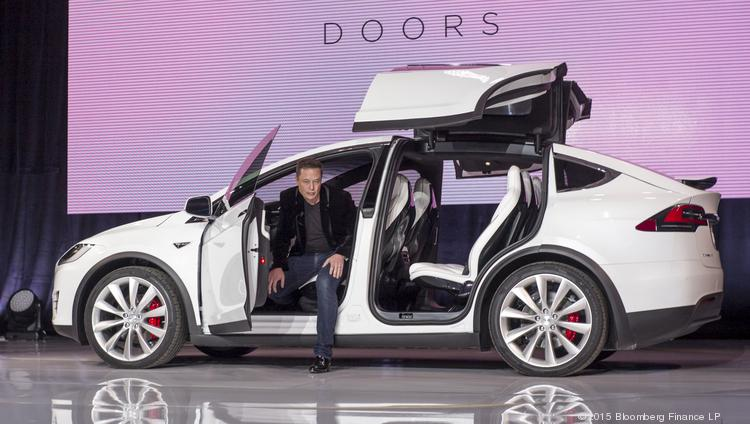 Elon Musk Chairman And Chief Executive Officer Of Tesla Motors Inc Exits The