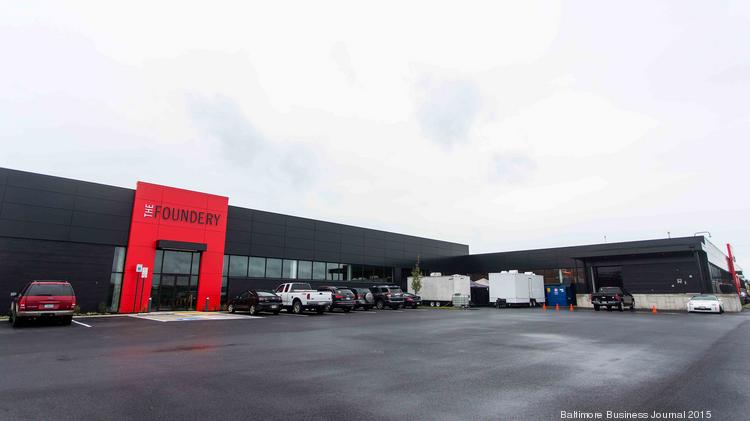 The Foundery's new location at City Garage in Port Covington is nearly 10 times the size of its original 2,000-square-foot space.