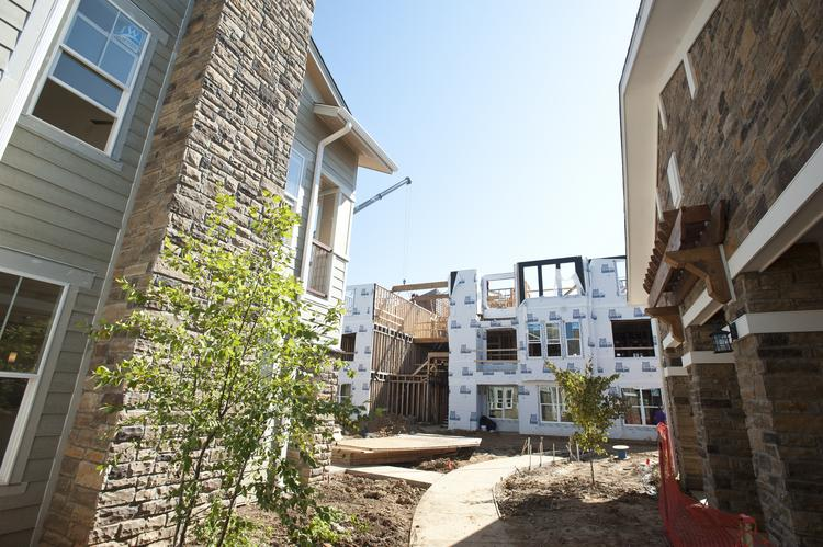 Watermark Residential Apartments, on Dorsey Lane near Hurstbourne Lane, is among the new complexes being built in Louisville.