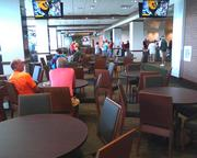 The Champions Club on the eighth floor