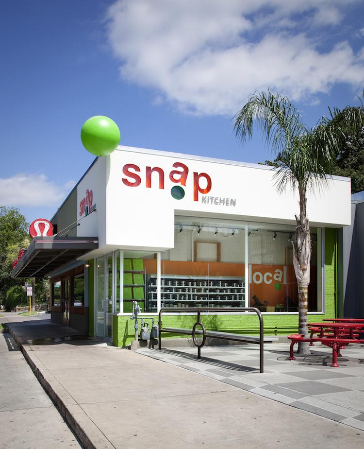 Snap Kitchen on West Sixth Street was one of the Austin chain's first locations.