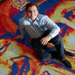 St. Louis student builds Rubik's Cube mural of <strong>Stan</strong> <strong>Musial</strong> - 5 things you don't need to know but might want to