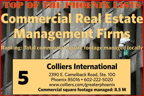 The Top 5 commercial real estate management firms in Phoenix