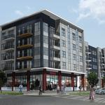 Blue Line apartment project on track to open in spring