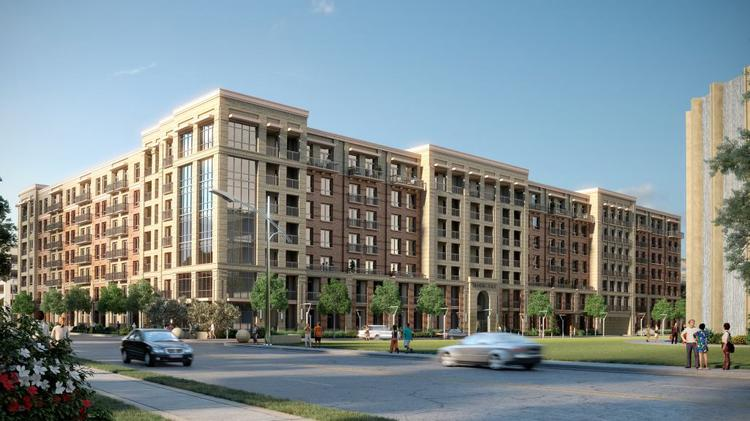 Houston Based Hines Waterwall Place Luxury Apartment Complex Near The Galleria Mall Is For