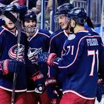 PHOTOS: Blue Jackets stock art update
