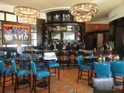 The bar area at the new Ruth's Chris Steakhouse location on Westheimer