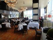 The main dining area of the new Ruth's Chris Steakhouse location on Westheimer