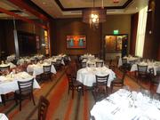 """The """"Blue Dog"""" room at the new Ruth's Chris Steakhouse location on Westheimer"""