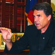Gov. Rick Perry has announced his intention of not seeking re-election.