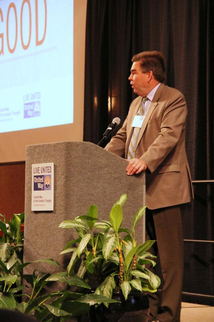 JR Shearin of Deloitte is the incoming chairman of the board for United Way of the Greater Triangle.