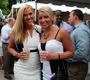 Despite the heat, Siro's had a large crowd for the fundraiser