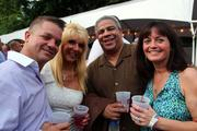 John and Regina Cole of Cole Collision Centers and Felix Perez, Executive Director of Wildwood Foundation and wife, Debra Perez of Fenimore Asset Management