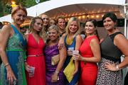 Left, Laura Petrovic of Hilton Garden Inn, Troy; second row left, Sabrina Finch-Mosseau, of Northeast Health; center, Kate Fruscione of The Business Review, Sarah Baluch of BBL Hospitality, Marianna and Jen from CDPHP