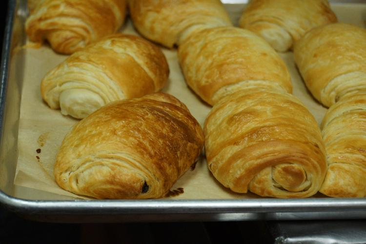 Paulette Bakery owner Janna Gustin started her business soon after making croissants for her friends and family after she got back from a vacation in France.
