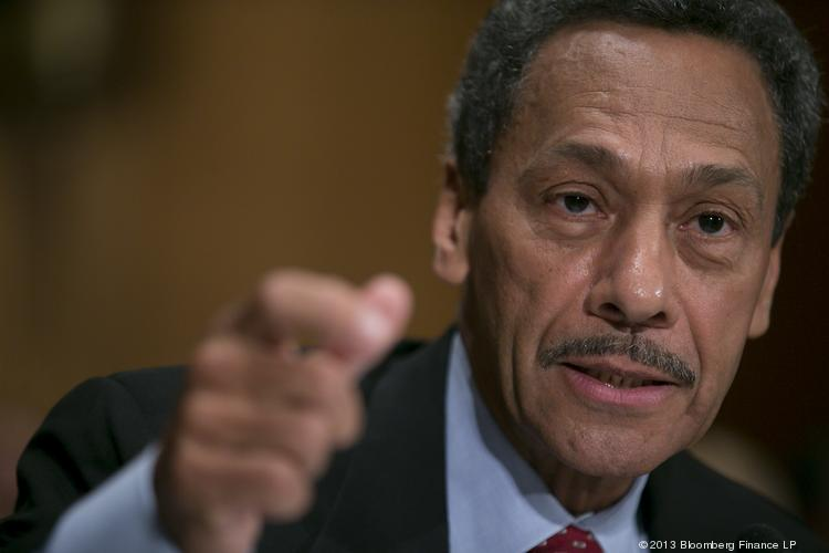 Rep. Mel Watt, D-N.C., likely won't become head of the Federal Housing Finance Agency now that his nomination has been blocked in the Senate.