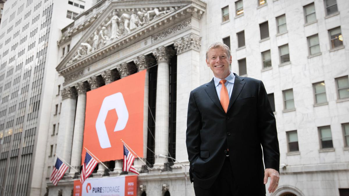 Beau Pure Storage Stock Plunges On Doubts Ahead Of Earnings   Silicon Valley  Business Journal