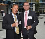 James Dunn and Scott Popilek of No. 72 USI Insurance Services of Florida.